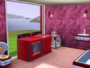 Sims 3 — Pink Mosaic by capshunica2 — A new pattern for you. Enjoy!