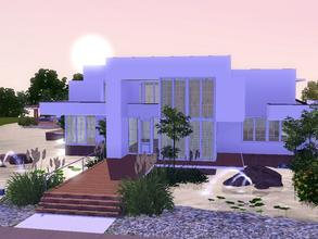 Sims 3 — Sunrise Avenue 125 by sinhhala — A tropical residence, located by a small clear water lake. Ground floor: