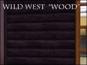 Sims 3 — WILD WEST WOOD by abuk0 — WILD WEST WOOD by abuk0