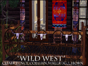 Sims 3 — WILD WEST by abuk0 — you want to have your own Cowboy Ranch!..........here some western stuff..............and