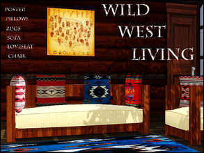 Sims 3 — WILD WEST LIVING by abuk0 — more for your own little Ranch........