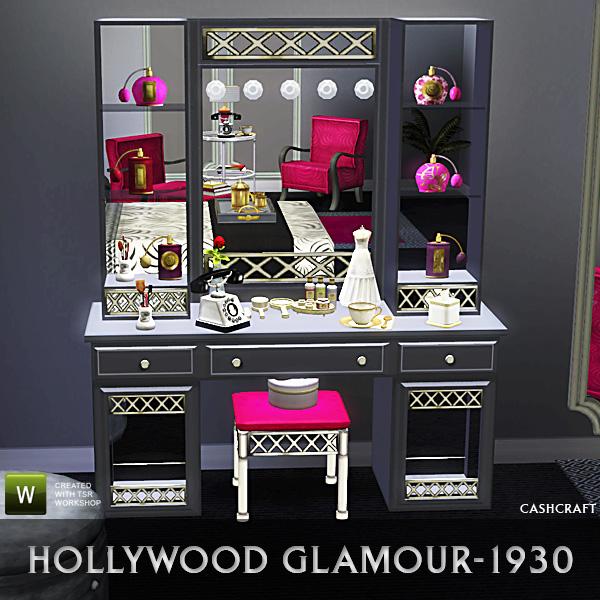 Cashcraft S Hollywood Glamour Vanity
