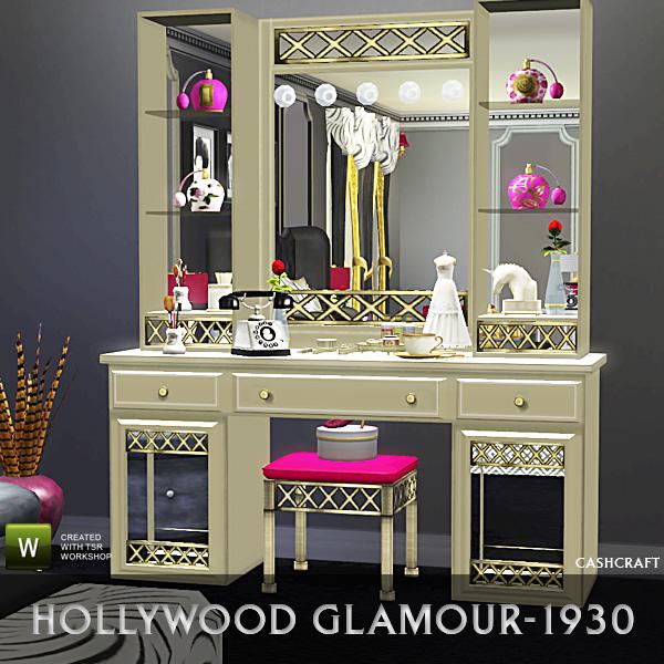Cashcraft Hollywood Glamour Vanity