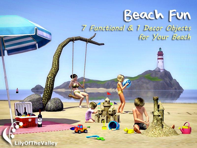 LilyOfTheValleys Beach Fun