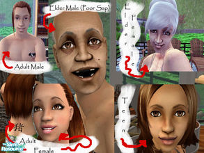 The sims 2 adult skin me?