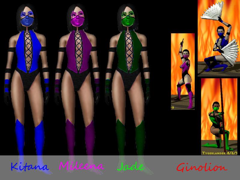 Mortal Kombat 9 Ryona Rain does it sting fatality Jade