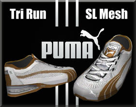 Sims 3 — Puma Tri Run SL Mesh Running Sneakers-Teen by terriecason — The Cat's got your back when it's a PUMA! Four