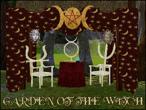 Sims 3 — GARDEN OF THE WITCH by abuk0 — I PUT A SPELL ON YOU.....................