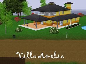 Sims 3 Lots - \'villa\'