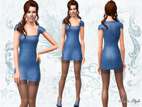 Sims 3 — Bandage Dress by ernhn — Bandage Dress 1 recolorable part Comes with 1 varition