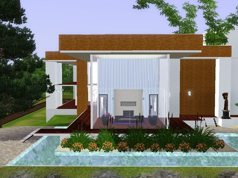 Volvenoms Modern house 50x50 FREE ex BahHaus EA 100711