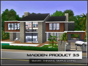 Sims 3 — MaddenProduct 3.5 (Furnished) by MaddenPro — MaddenPro 3.5 @ TSR,Enjoy it. Requires:Only Base Game Fully
