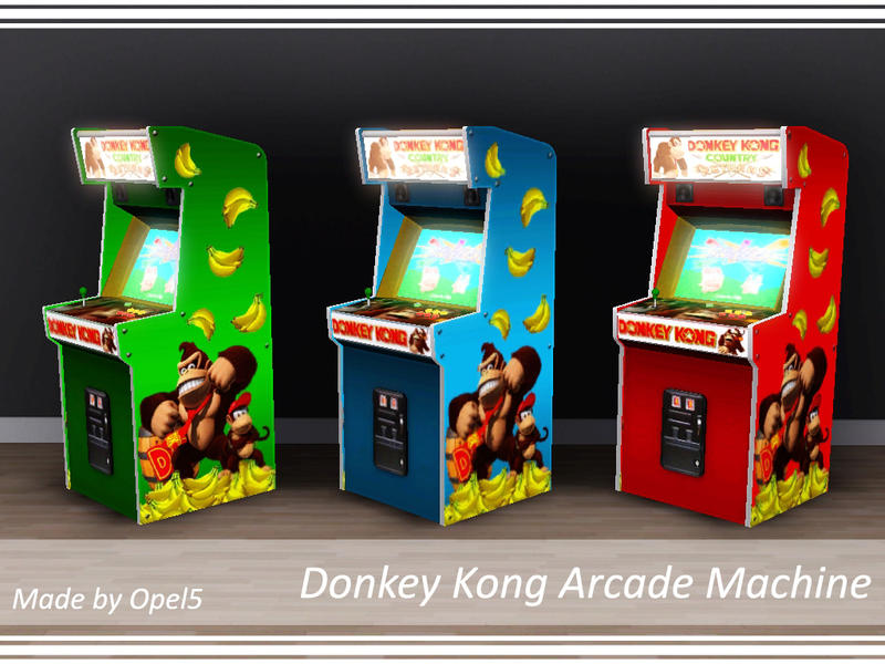 kong arcade machine