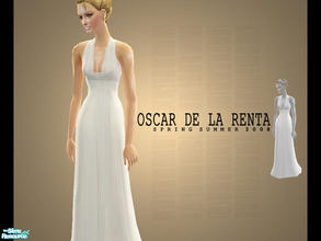 Sims 2 — Oscar De La Renta Spring Summer 2008 Part 2 by lemonloveshane — These three dresses were really shining in the