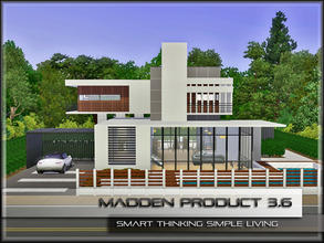 Sims 3 — MaddenProduct 3.6 (Furnished) by MaddenPro — MaddenPro 3.6 @ TSR,Enjoy it Requires:Only Base Game and Latest