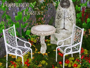 Sims 3 — FORBIDDEN FOREST by abuk0 — The Forbidden Forest likes to keep its secrets, but on occasion a glimpse may be