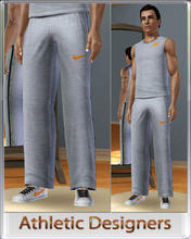 Sims 3 — Athletic Designers - Pants by terriecason — An athletic compilation for the sim who plays in style. Four