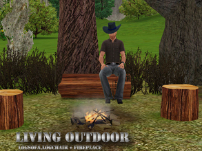 Sims 3 — LIVING OUTDOOR by abuk0 — you are a western sims who loves the outdoors!..... or a knight in shining