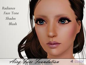 Sims 3 — Airy Face Foundation  by steadyaccess — It works for female sims from teen to adult! Hope you'll enjoy!)