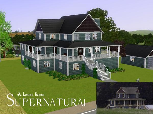 Allen92909 S Supernatural A House From The Show
