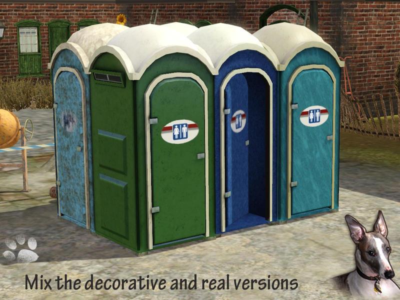 Bathroom Stall Sims 4 cyclonesue's porta-potty portable toilets