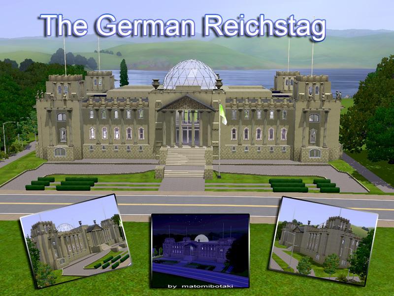 Matomibotaki S The German Reichstag