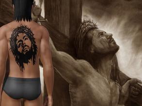 Sims 3 downloads tattoo jesus christ tattoo maxwellsz