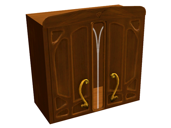 shinokcr 39 s art nouveau kitchen cabinet