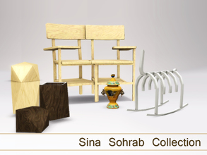 Sims 3 — Sina Sohrab Collection by Angela — Sina Sohrab's furniture now also available for your Sims 3 homes. As