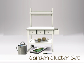 Sims 3 — Garden Clutter by Angela — This previously Simspiration exclusive now available for anyone. Made as exclusive