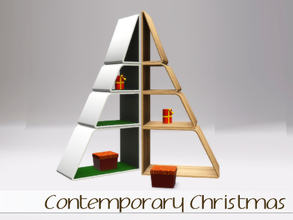 Sims 3 — Contemporary Christmas by Angela — Simspiration Christmas Online Exclusive now also available. Small set