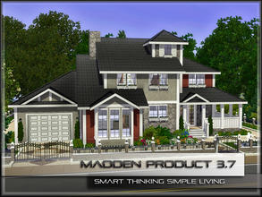Sims 3 — MaddenProduct 3.7 (Furnished) by MaddenPro — MaddenPro 3.7 @ TSR Requires:World Adventures,Ambitions,Late Night