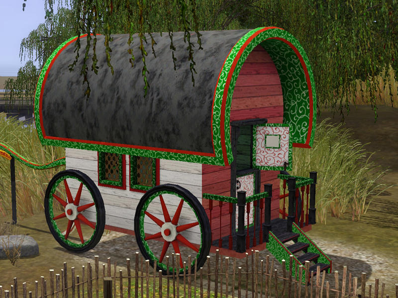 How To Build A Gypsy Wagon Sims
