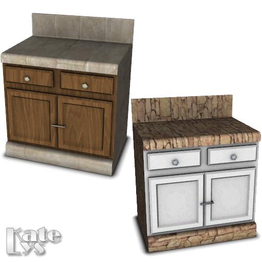 Katelys' Rustic Kitchen Counter 01