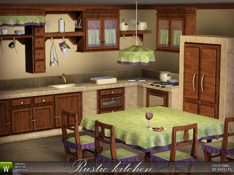 Katelys Rustic Kitchen