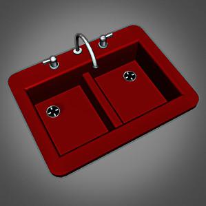 Red Kitchen Sink Cashcrafts retro kitchen sink retro kitchen sink workwithnaturefo