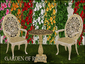 Sims 3 — GARDEN OF ROSES by abuk0 — You love the roses - so do I. I wish The sky would rain down roses, as they rain From