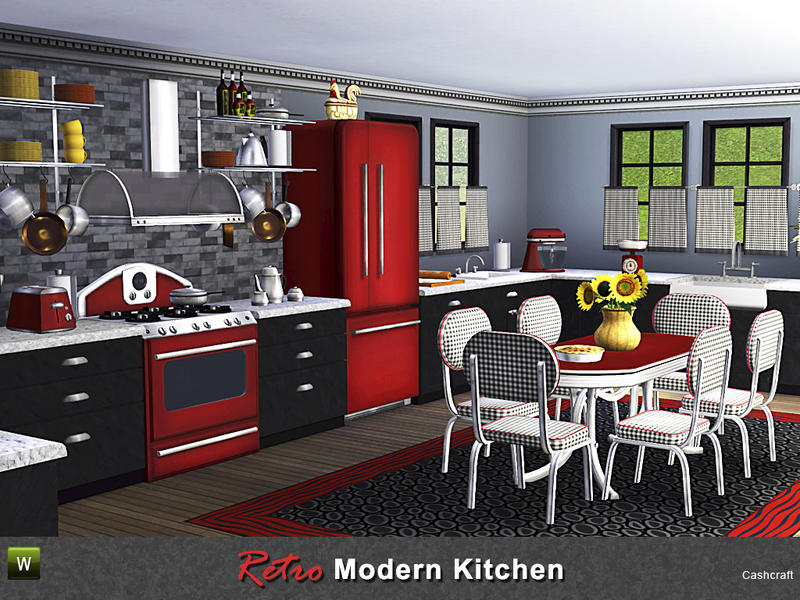 Kitchen Appliances Sims  Mod