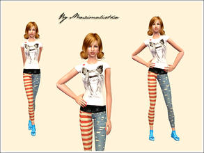 Sims 2 — Topshop by MAXImalistka — Adult female Outfit
