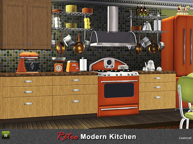 Retro Modern Kitchen
