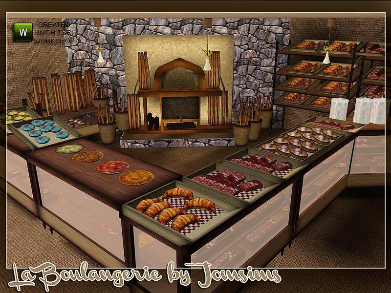 Sims  Open For Business Restaurant