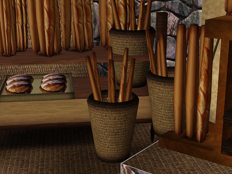 jomsims 39 basket of baguette bread panier de baguette de pain. Black Bedroom Furniture Sets. Home Design Ideas