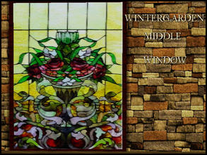 Sims 3 — WINTERGARDEN WINDOW MIDDLE by abuk0 — WINTERGARDEN WINDOW MIDDLE by abuk0