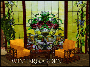 Sims 3 — wintergarden by abuk0 — a cosy place for cold days.........