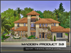 Sims 3 — MaddenProduct 3.8 by MaddenPro — MaddenPro 3.8 at TSR, Requires:World Adventures Enjoy it