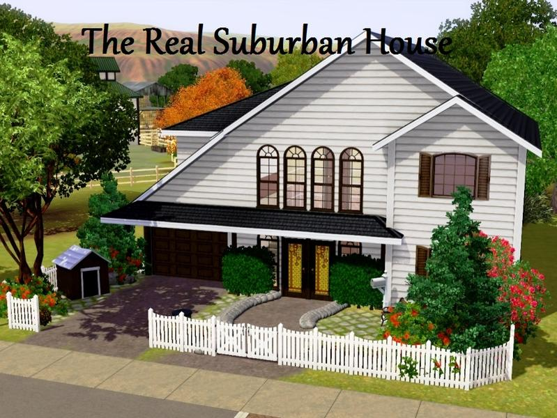 matej_136's the real suburban house