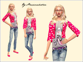 Sims 2 — Forever Young by MAXImalistka — Adult Female Everyday Outfit