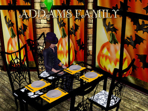 Sims 3 — ADDAMS FAMILY by abuk0 — wish you all a scrary creepy great halloween ;-)))))