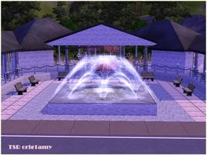 Sims 3 — Ceremonial banquet Hs by orig1amy — Comunity Lot for wedding ceremony. When install it, you can place wedding
