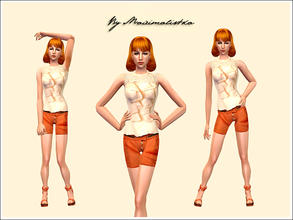 Sims 2 — Let me be myself by MAXImalistka — Adult Female Everyday Outfit
